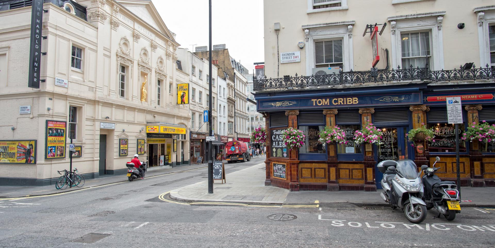 Tom Crib, Piccadilly, London - Welcome